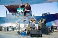 Black Pistol Fire @ Joshua Tree Music Festival